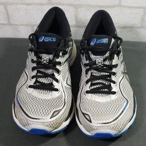 Asics silvet/blue shoes size 8.5